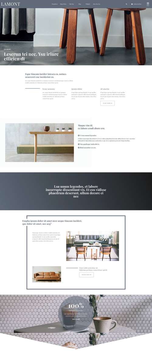 Lamont MOBLE Website Design of the Month