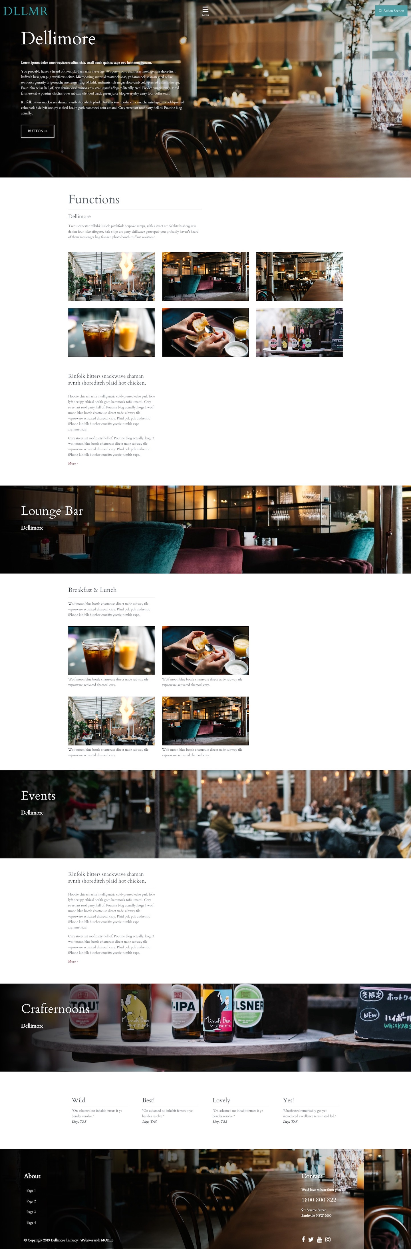 Dellimore Website Design