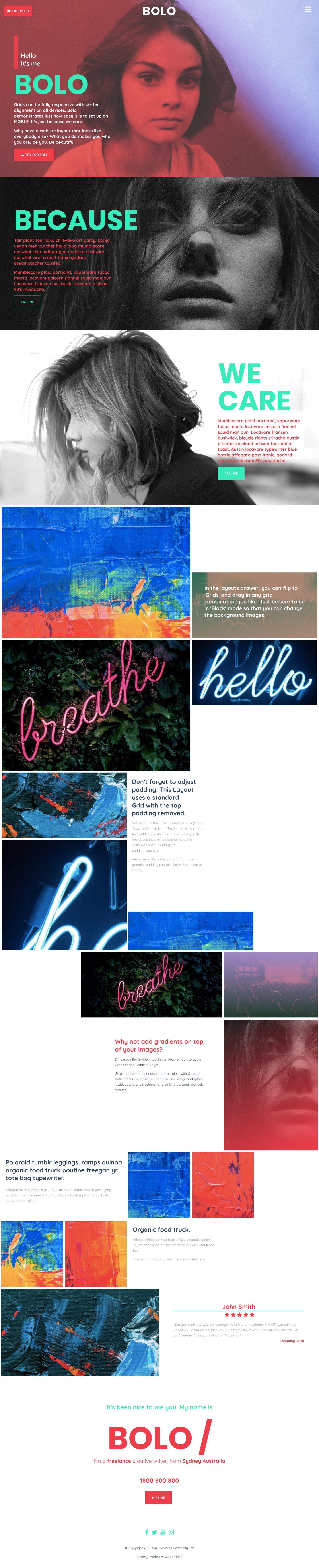 Bolo Website