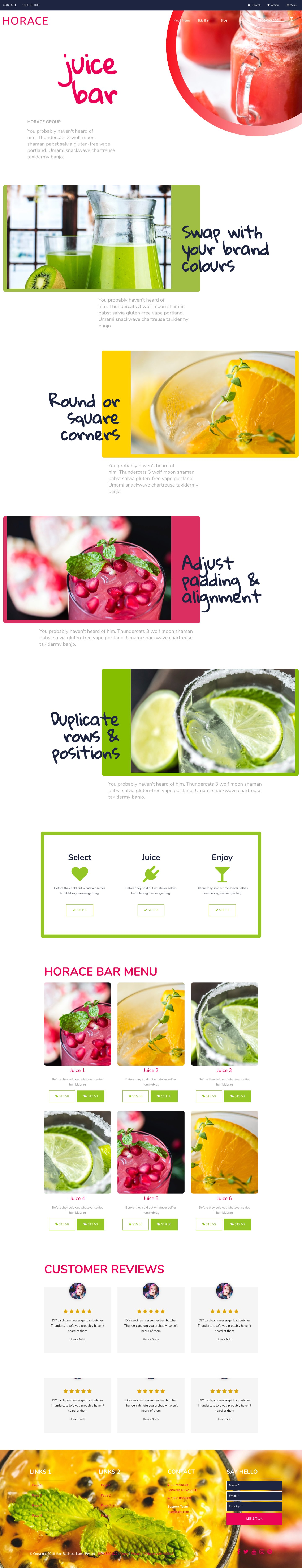 Horace Website