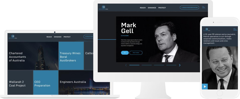 Reputation Edge Custom Website Design
