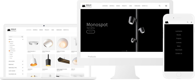 Modular Lighting Online Catalogue