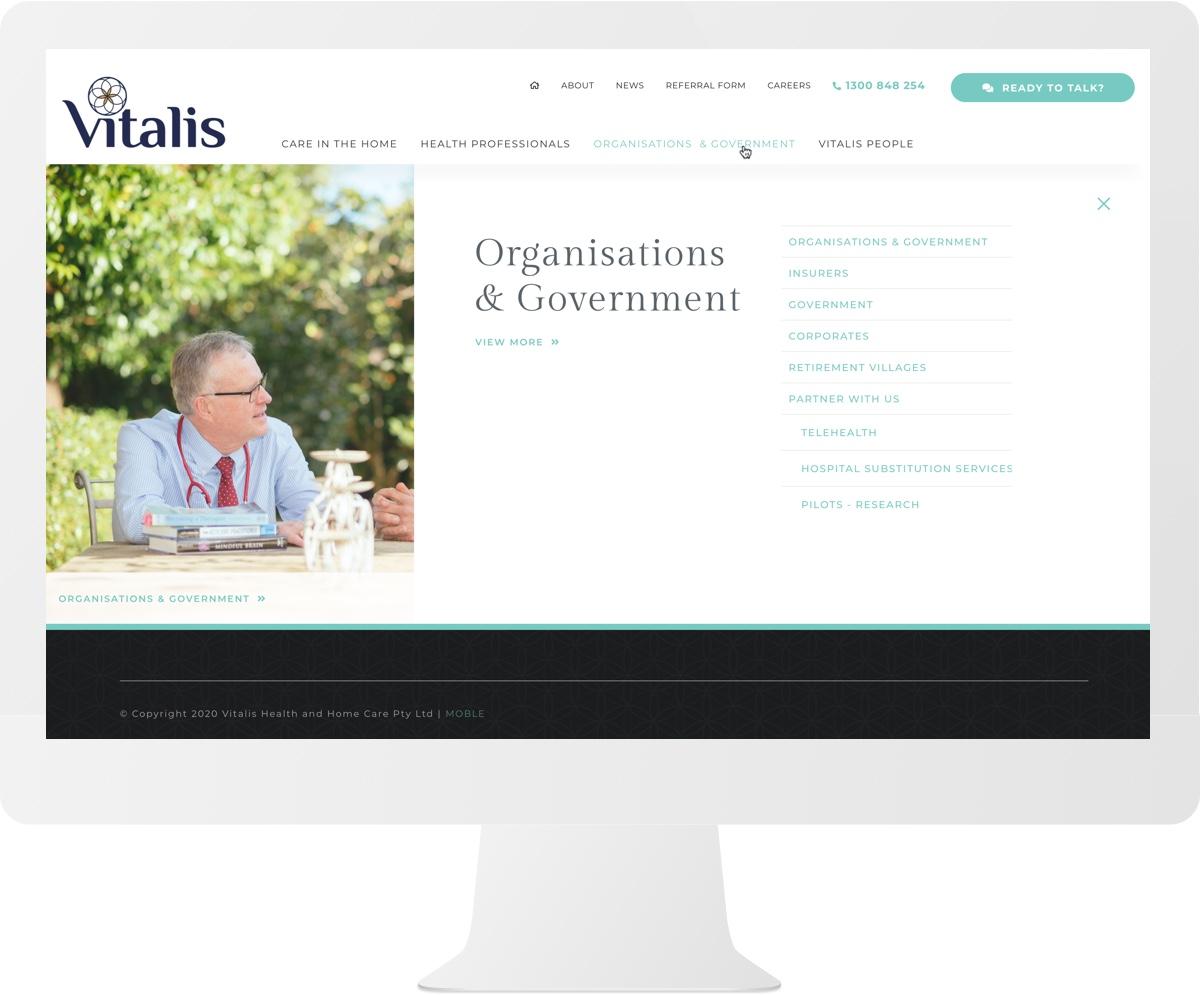 Vitalis Home Care iMac