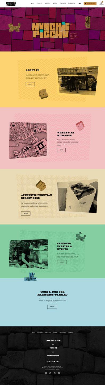 Munchie Picchu Ecommerce Web Design