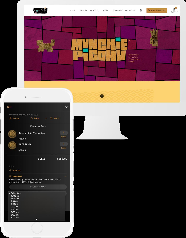 Munchie Picchu Mac iPhone