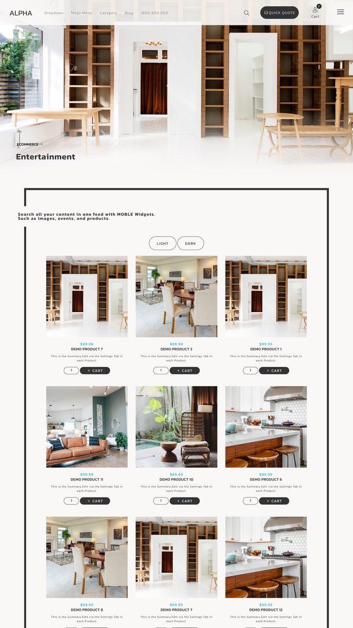 Alpha Website Design Theme
